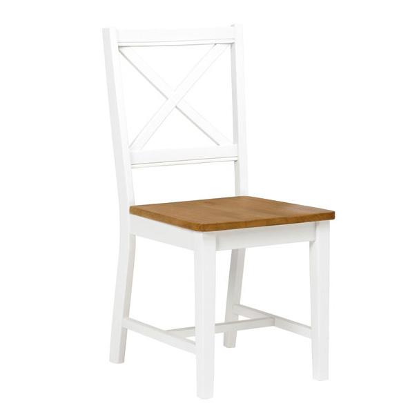 Cross stol vit ekbets 595 kr Trendrum se
