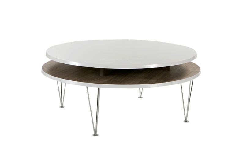Level Circle soffbord Valnöt 2795 kr Trendrum se