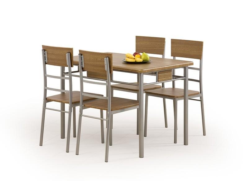 Cassandra Matgrupp i Valnöt Bord inklusive 4 st stolar 1595 kr Trendrum se