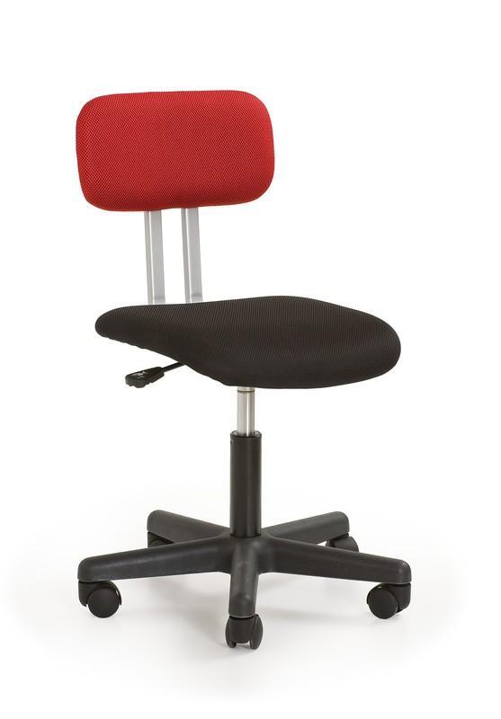 Anton skrivbordsstol Svart röd 699 kr Trendrum se