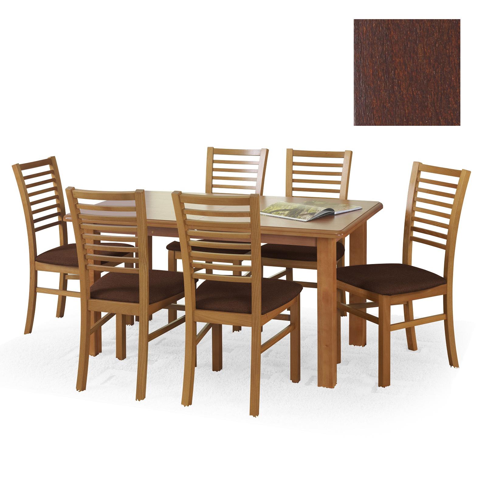 Penelope naturlig fanér bord mörk valnöt 2395 kr Trendrum se