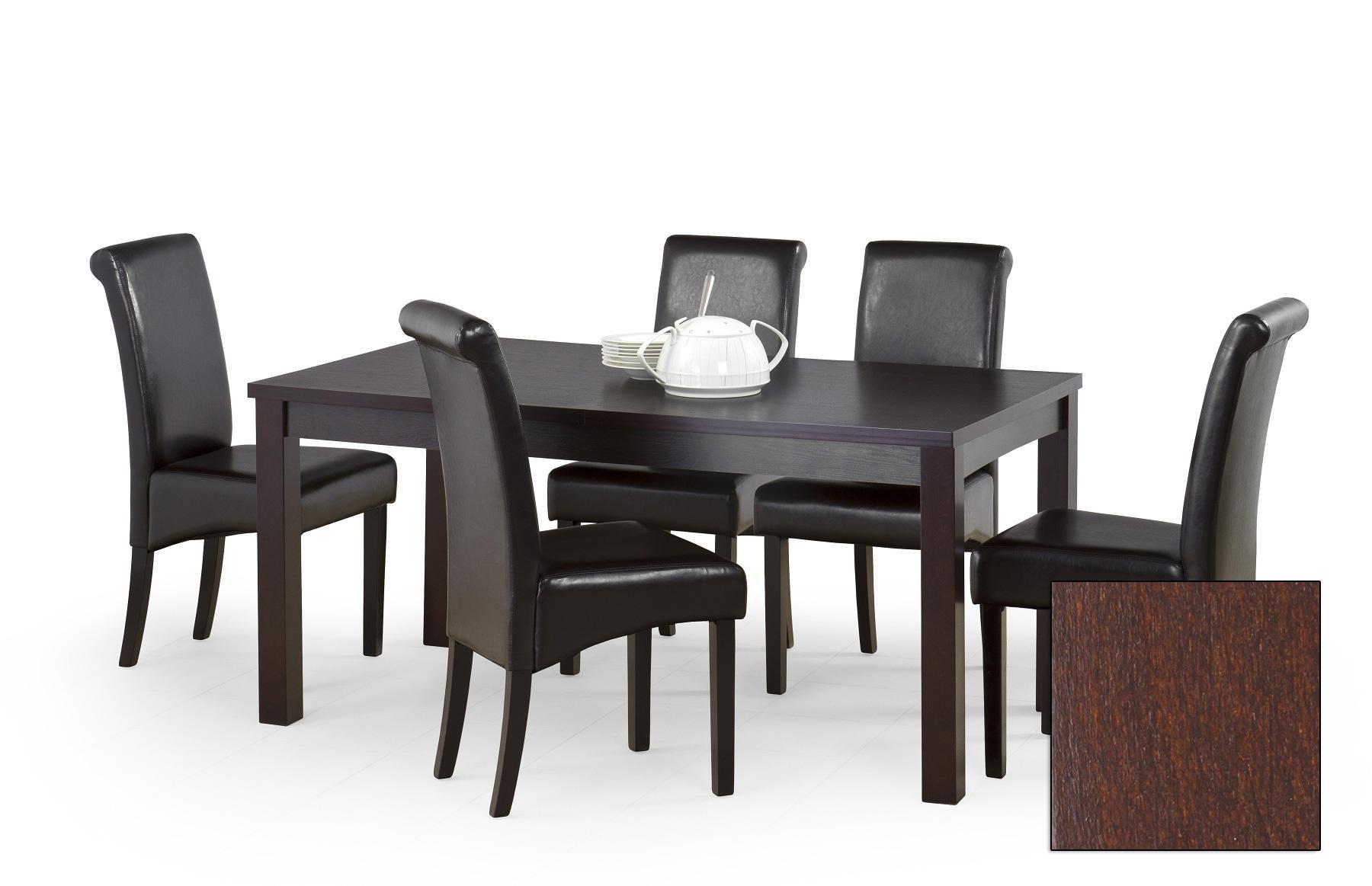 Alice 2 160 200 cm naturlig fanér bord mörk valnöt 2495 kr Trendrum se