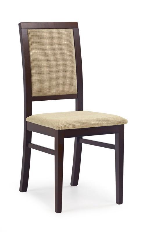 Brenda 1 stol mörk valnöt beige 539 kr Trendrum se