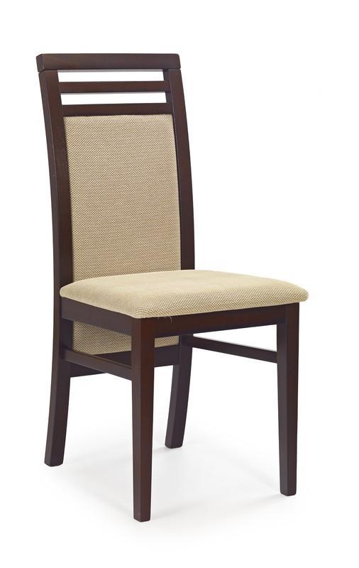 Brenda 4 stol mörk valnöt beige 609 kr Trendrum se