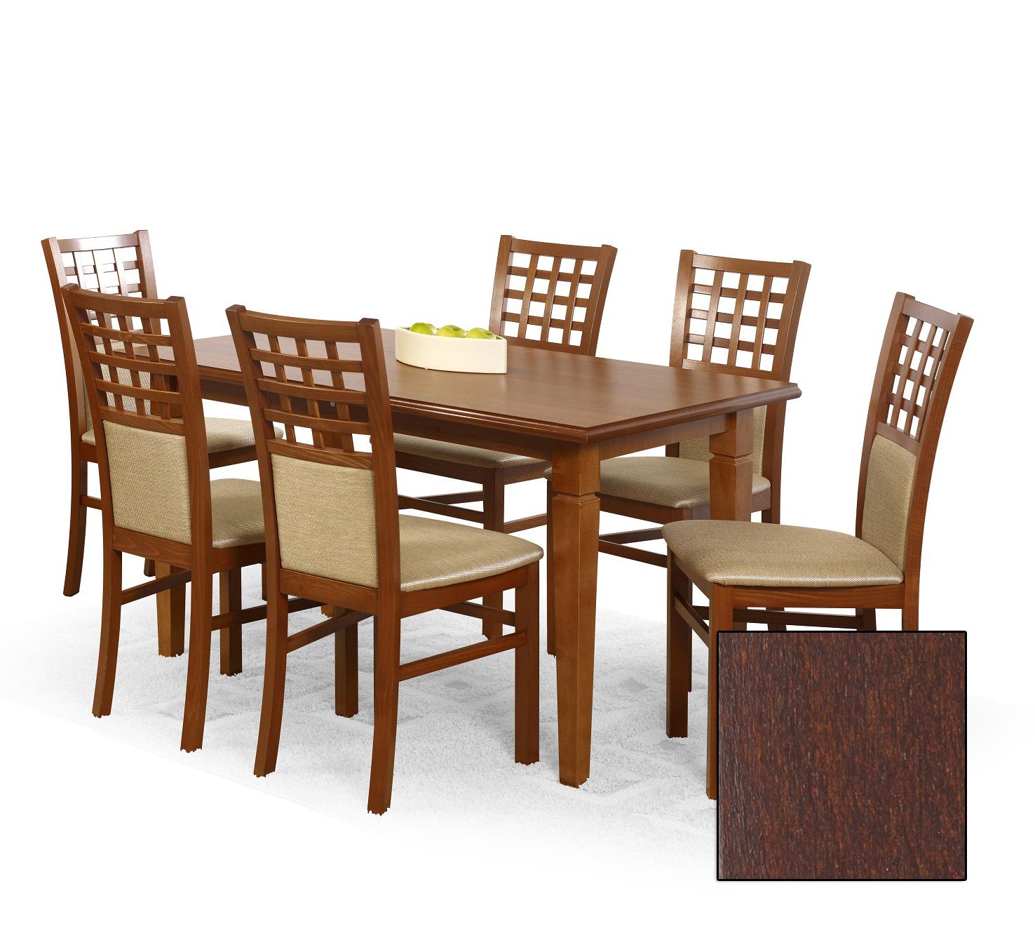Helen naturlig fanér bord mörk valnöt 2395 kr Trendrum se