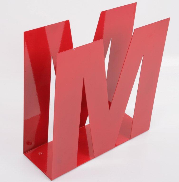 Tidningsställ M Röd 319 kr Trendrum se