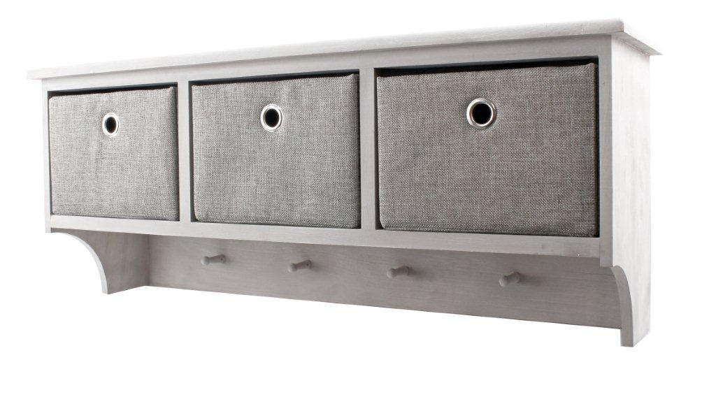 Hatthylla med 3 lådor Grey shades 789 kr Trendrum se