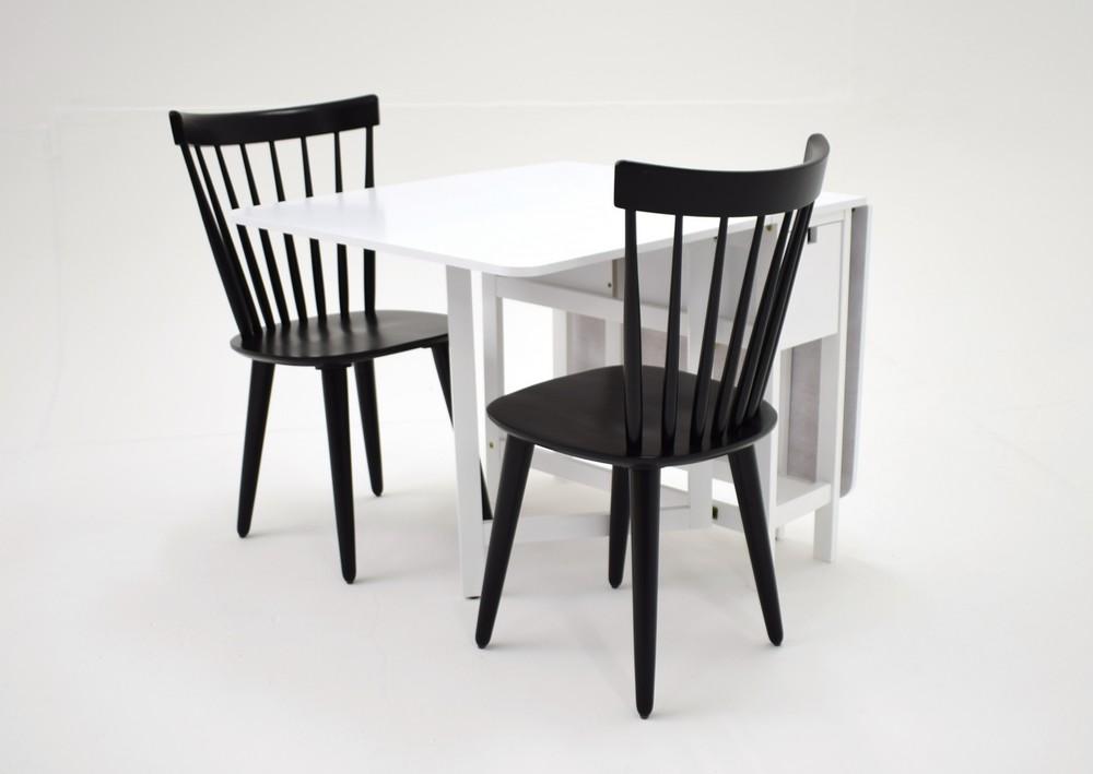 Sofiero matgrupp Bord inklusive 2 st stolar Vit svart 2695 kr Trendrum se