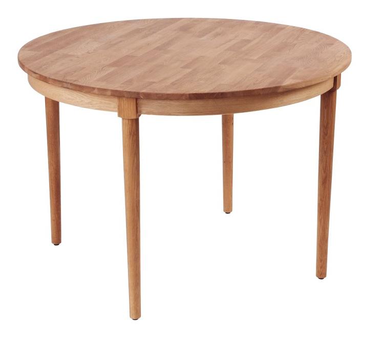 Litet Koksbord Med Klaff : Blanche  runt matbord  vitt  Matbordonlinese