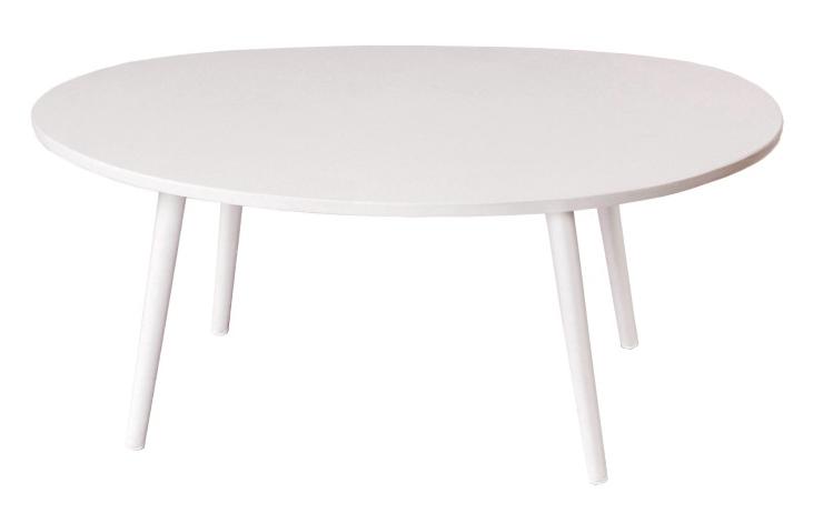 Soffbord ovalt soffbord : Tunadal soffbord - vit - 895 kr - Trendrum.se