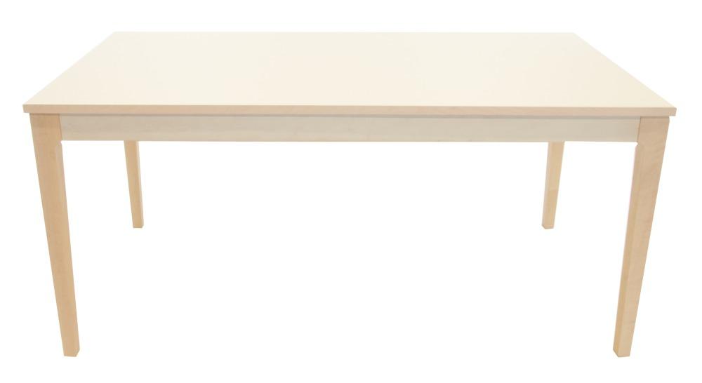 Nyans matbord björk vit linoleum 150 cm 3395 kr Trendrum se