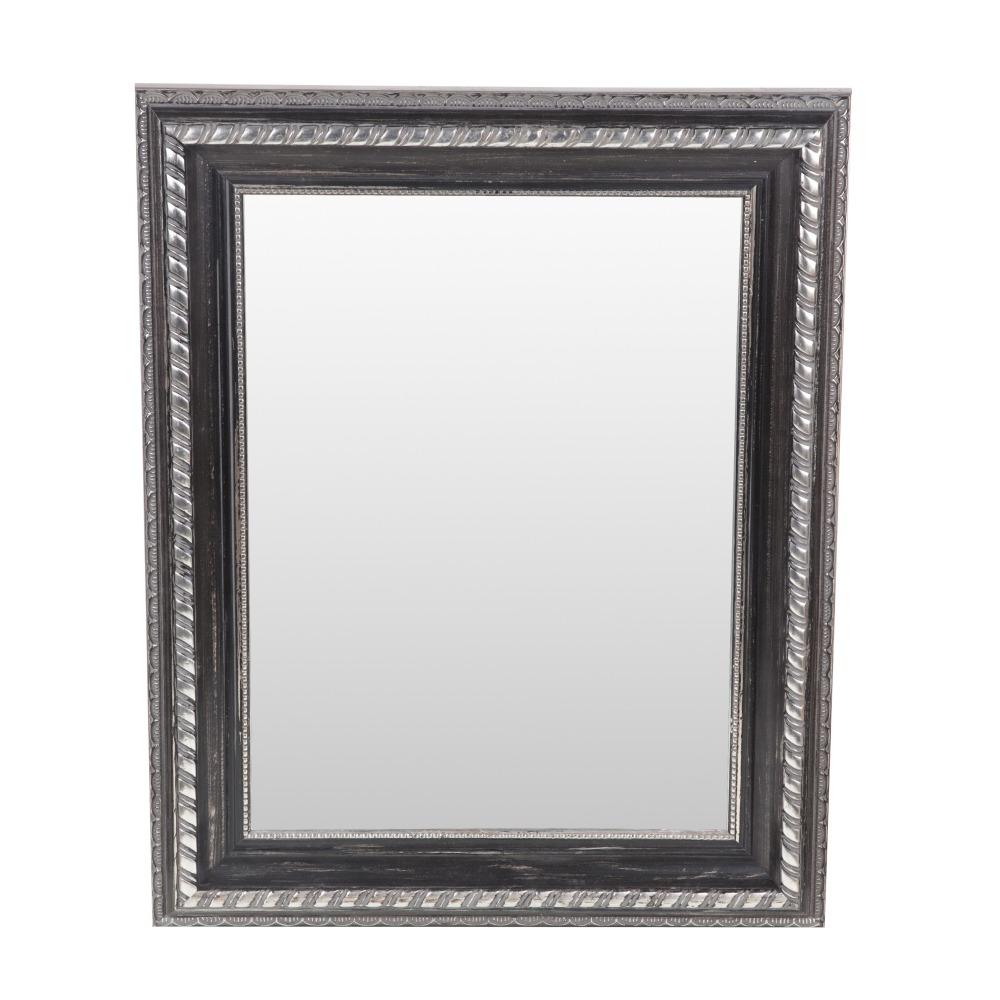 Brage spegel Svart silver trä 30×40 cm 489 kr Trendrum se