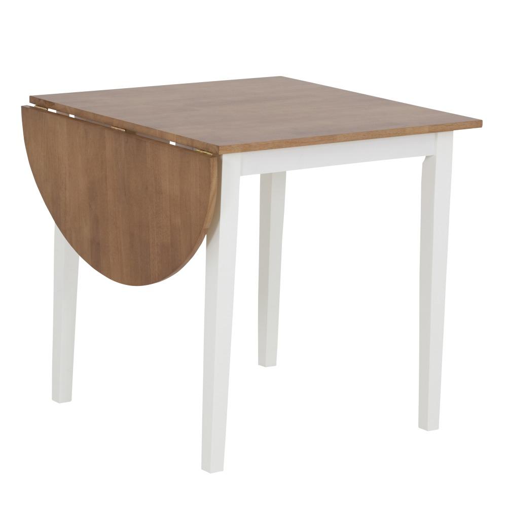Litet Koksbord Med Klaff : Merida matbord med klaff  vitek