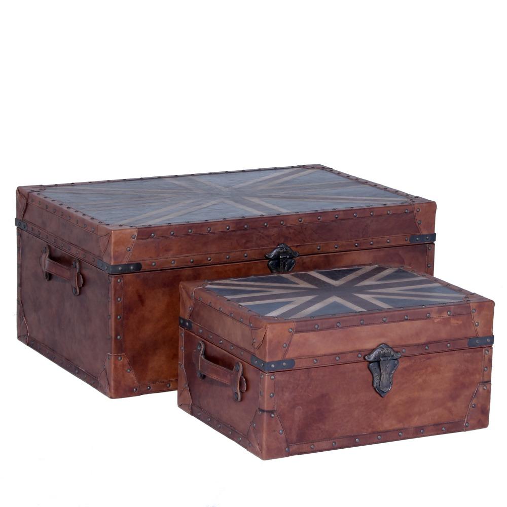 Old England koffertset Vintage (läder antikbehandlat) 6895 kr Trendrum se