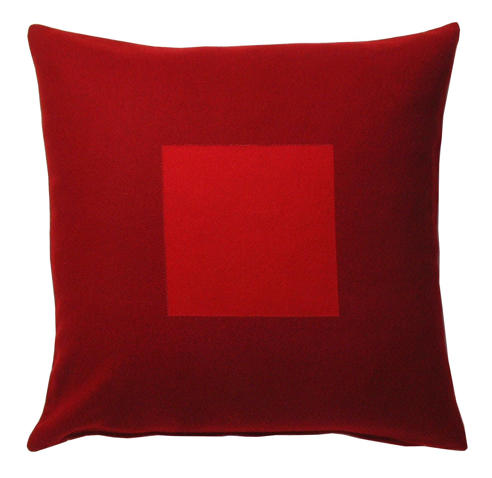 50 Kvadrat kuddfodral Vinröd Röd 319 kr Trendrum se