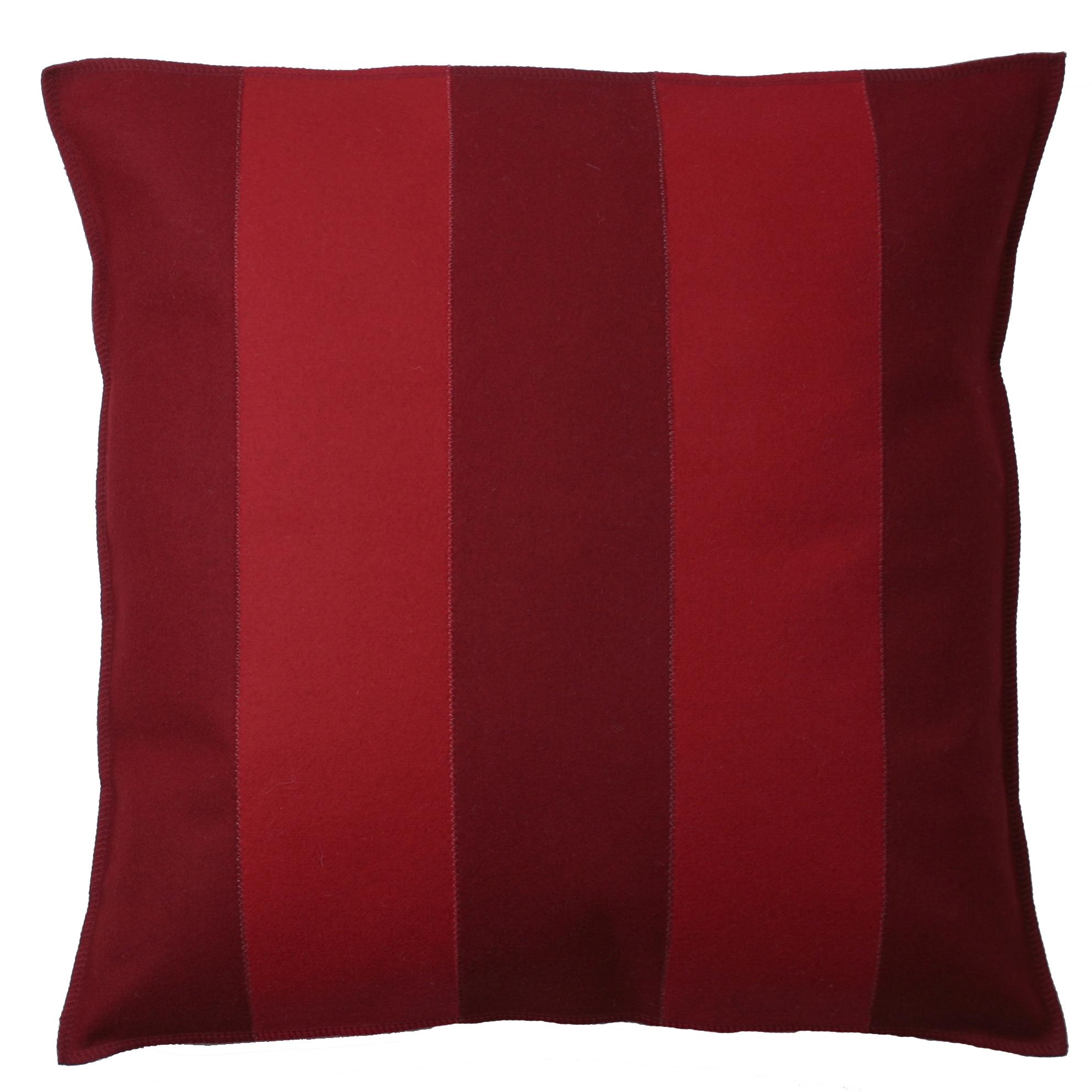 COLORE kvadratiskt kuddfodral Vinröd Röd 339 kr Trendrum se