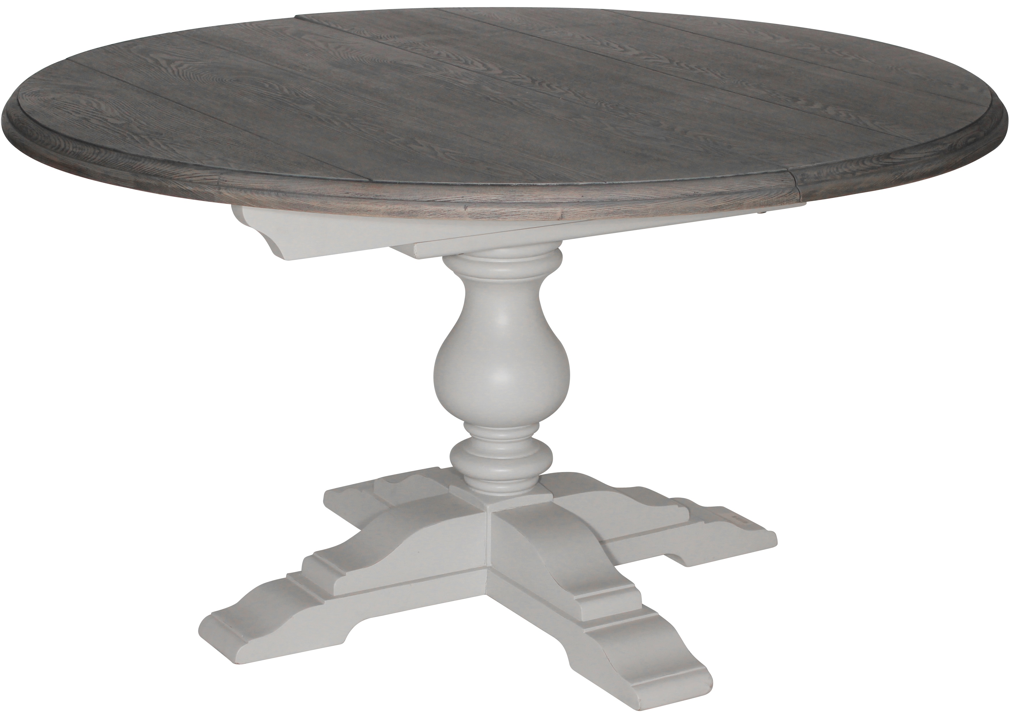 vitt matbord