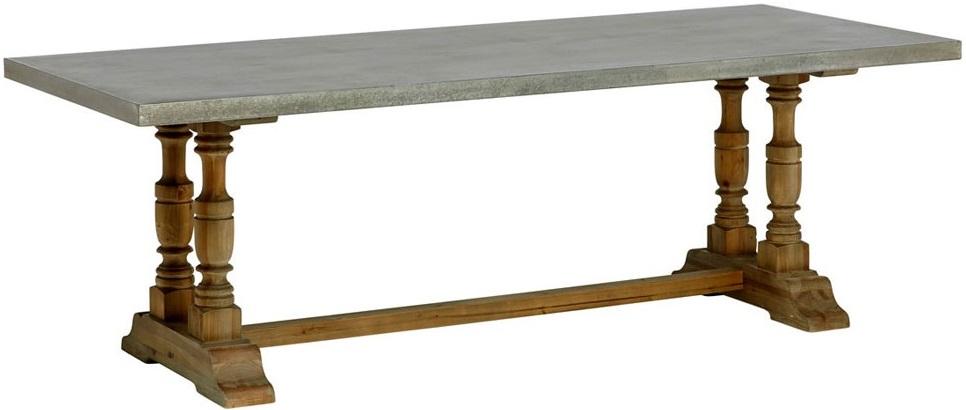 Columbus Rustikt bord 230cm Natur Zink 7990 kr Trendrum se