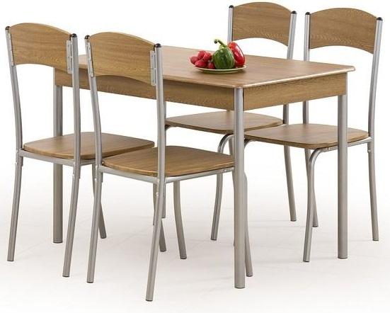 Domino Matgrupp i Valnöt Bord inklusive 4 st stolar 1595 kr Trendrum se