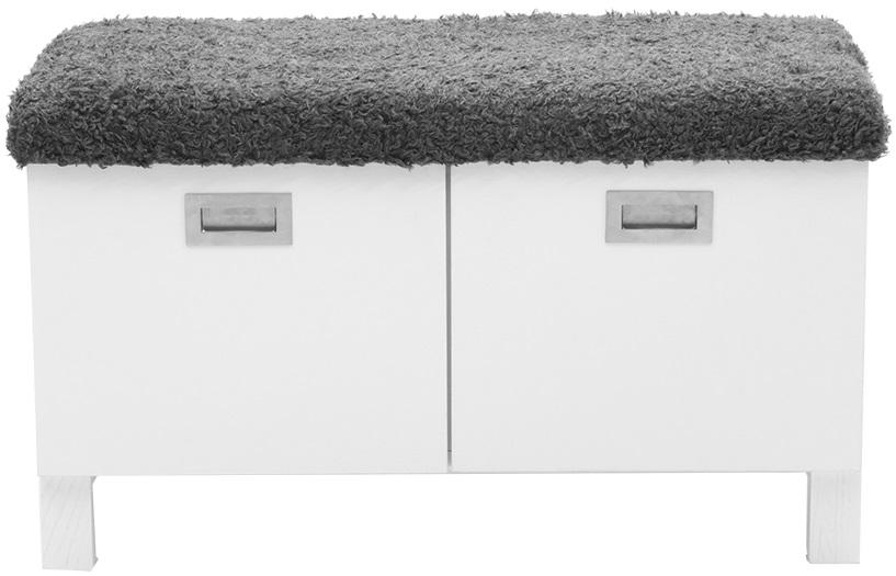 Welcome sittbänk med träben och förvaring Vit 2395 kr Trendrum se