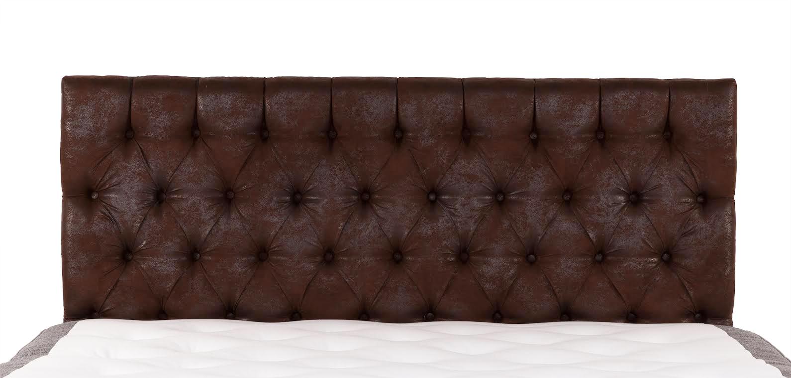 Vintage sänggavel Antik mocca vägghängd 180 cm 3190 kr Trendrum se