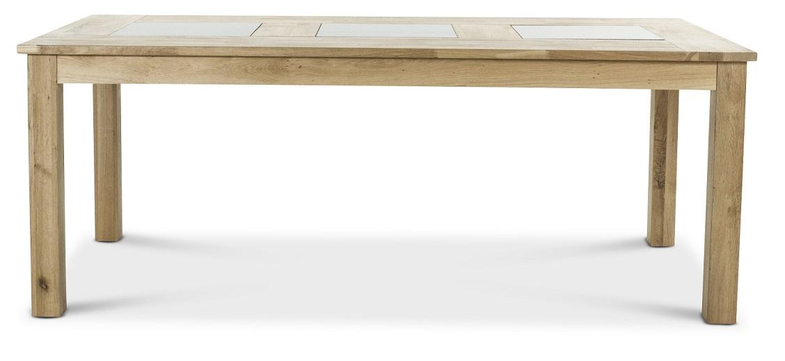 Jasmine matbord med svarta grantiplattor 195×95 cm 3495 kr Trendrum se