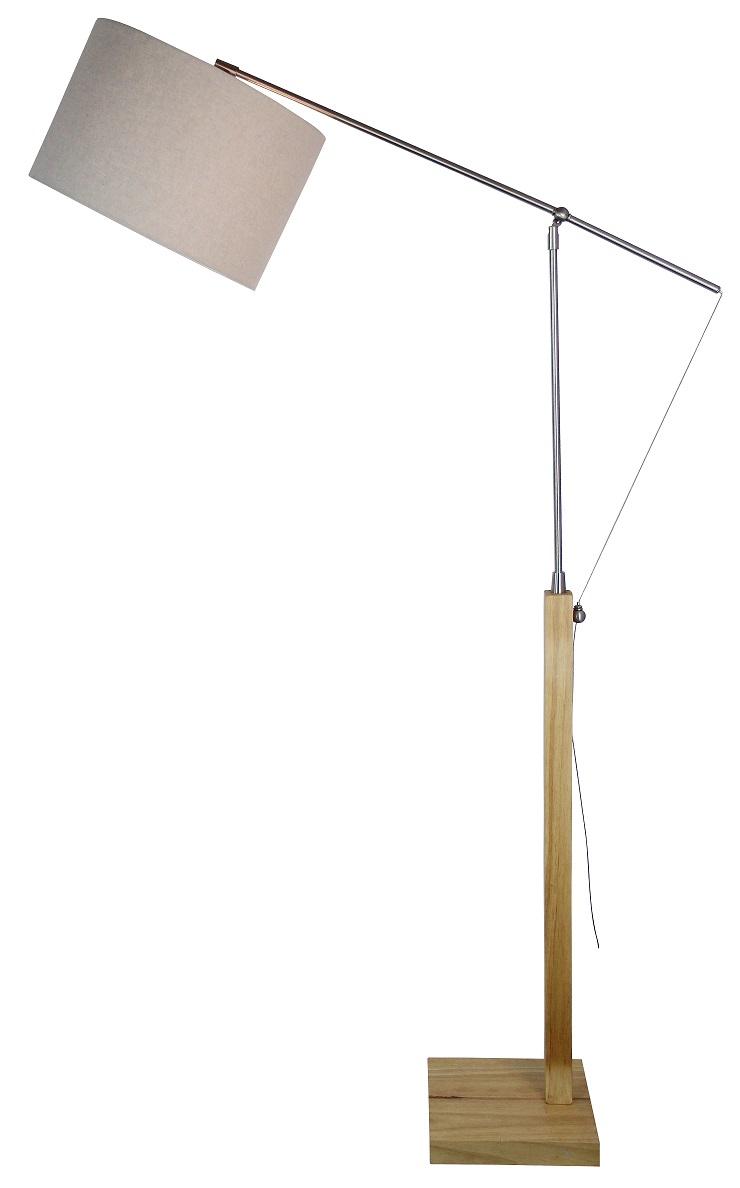 Masai stor golvlampa Trä Grå 1195 kr Trendrum se