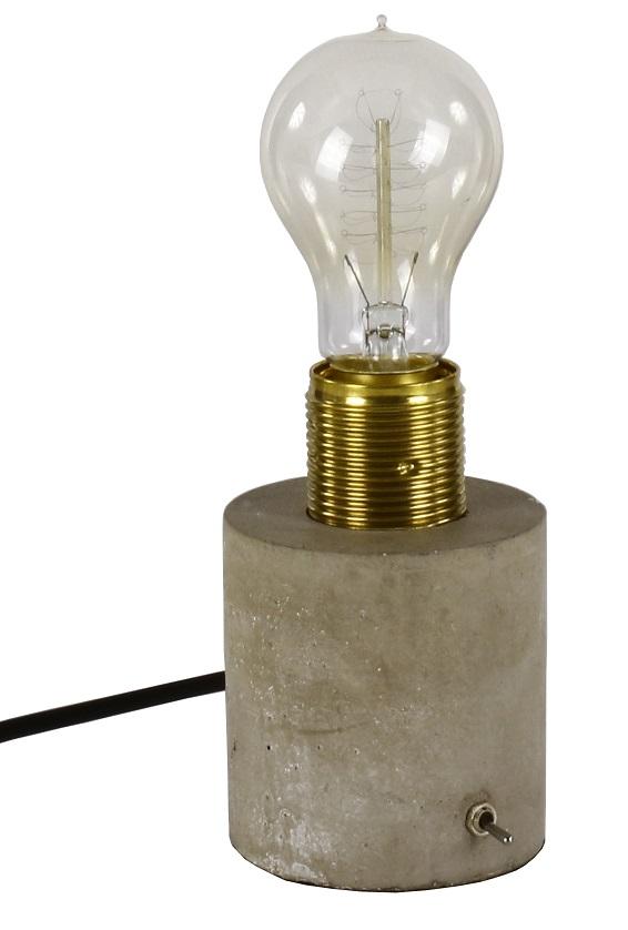 Hunge bordslampa Mässing Cement 195 kr Trendrum se