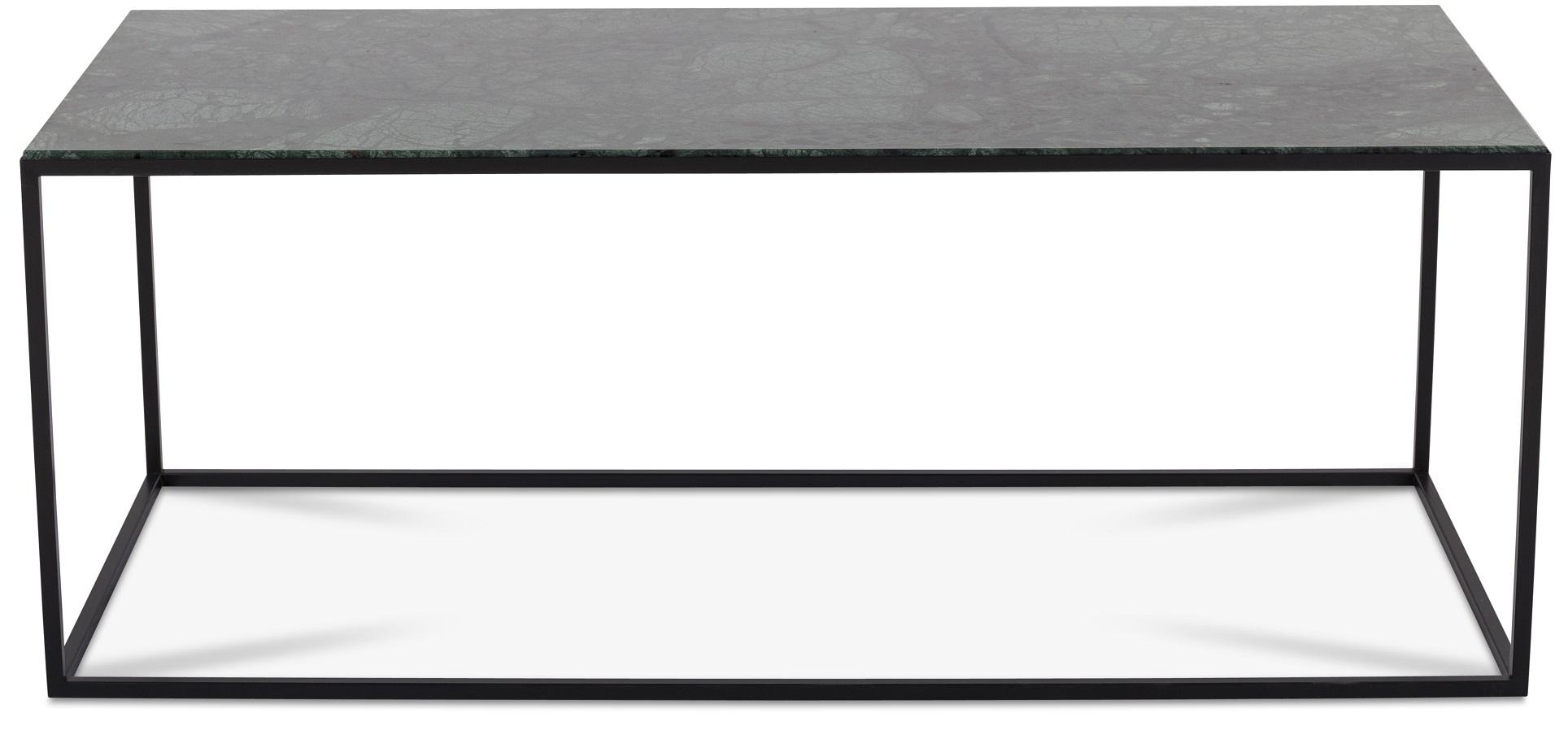 Carrera soffbord 125 cm Grön Marmor Svart 3695 kr Trendrum se