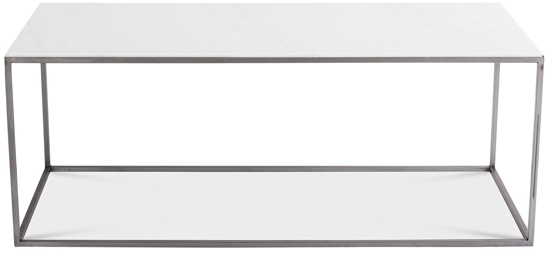 Carrera soffbord 125 cm Vit Marmor Stål 3695 kr Trendrum se