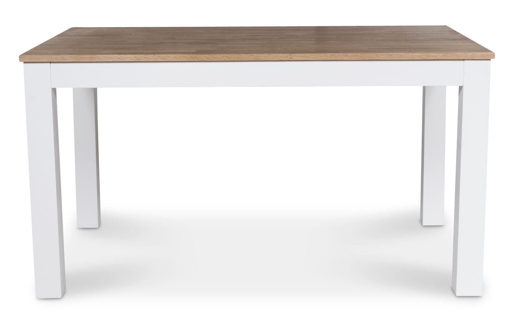 Dalarö matbord 140 cm vit oljad ek 2490 kr Trendrum se