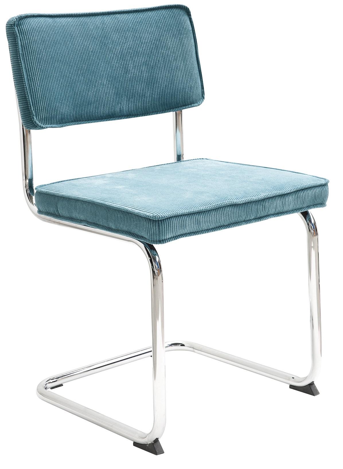 Sevilla stol med kromade ben Blå Manchester 295 kr Trendrum se
