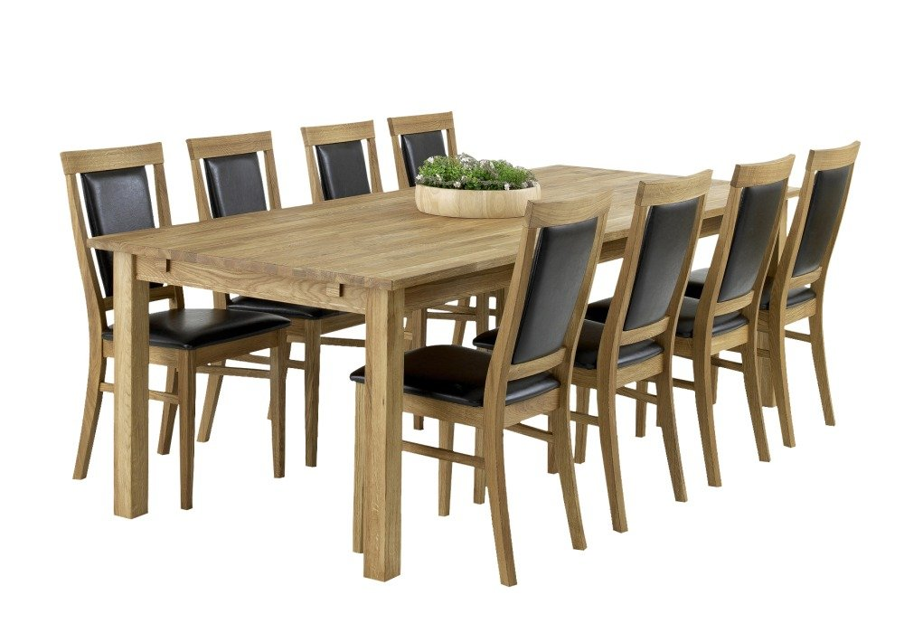 eken s matbord oljad ek 240 cm 6195 kr. Black Bedroom Furniture Sets. Home Design Ideas