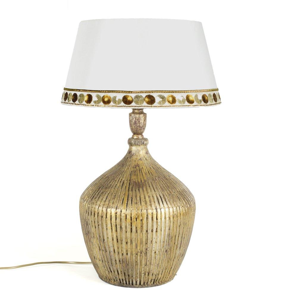 Bordslampa Wood 54 - Guld - 1695 kr - Trendrum.se
