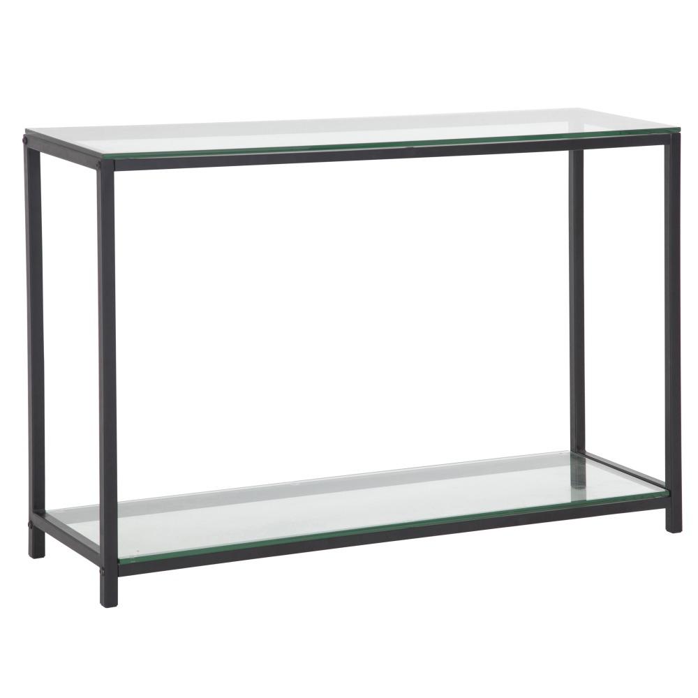 Stil avlastningsbord Svart metall glas 1695 kr Trendrum se