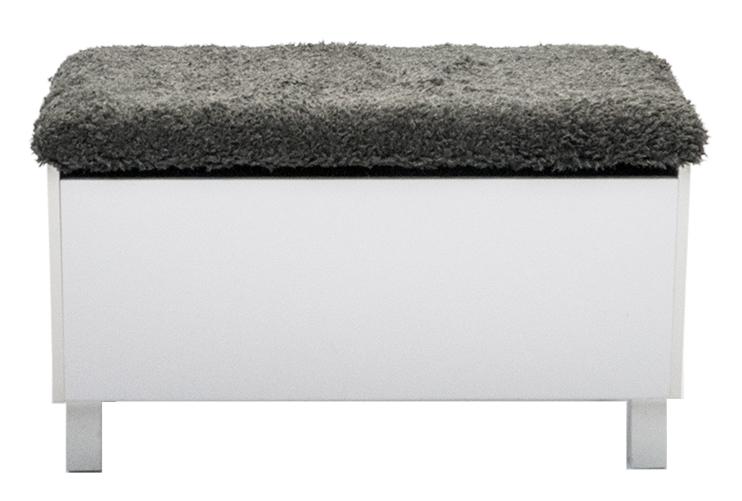 Box sittbänk med förvaring vit 1295 kr Trendrum se