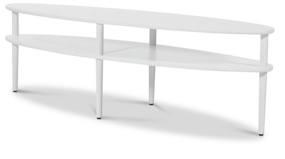 Ljusdal soffbord, ovalt vit 2290 kr Trendrum.se