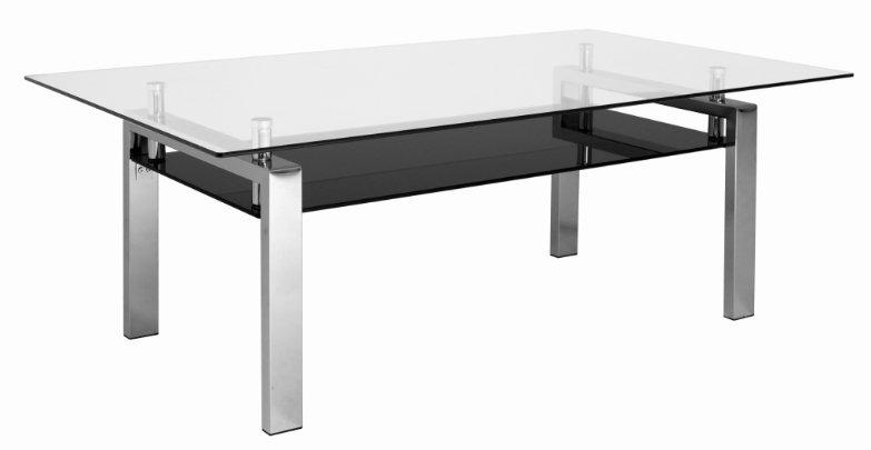 Andora soffbord 140 glas svart glas 1690 kr Trendrum.se